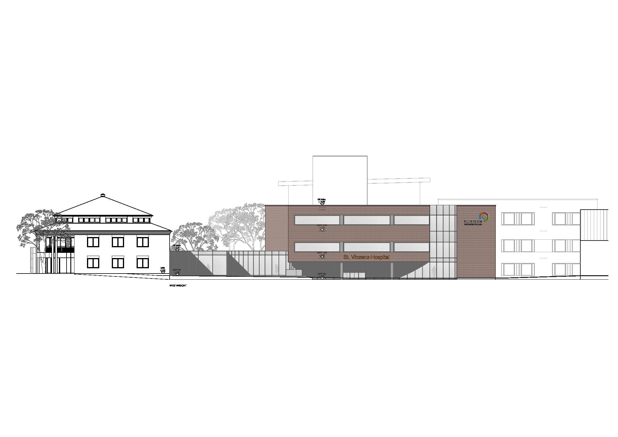 Erweiterung Fachpsychiatrisches Zentrum St. Vinzenz-Hospital